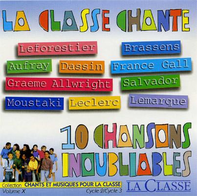 10 CHANSONS INOUBLIABLES 1ER SERIE
