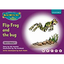 FLIP FROG AND THE BUG - PURPLE 2