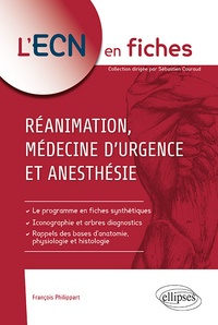 REANIMATION MEDECINE D'URGENCE ET ANESTHESIE