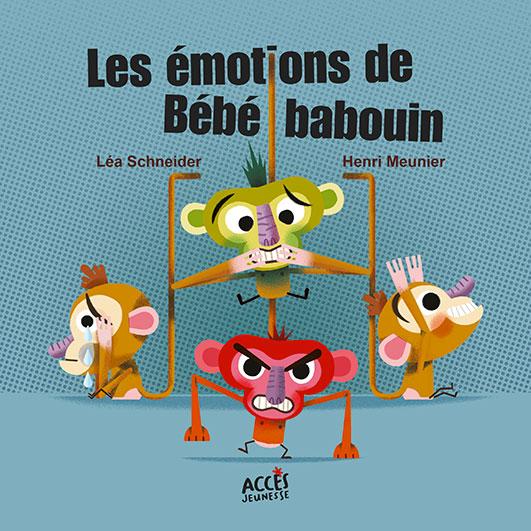 LES EMOTIONS DE BEBE BABOUIN