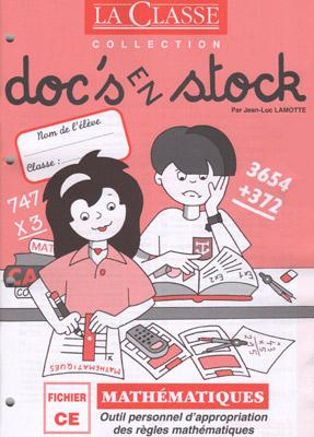 DOC'S EN STOCK MATHEMATIQUES CE