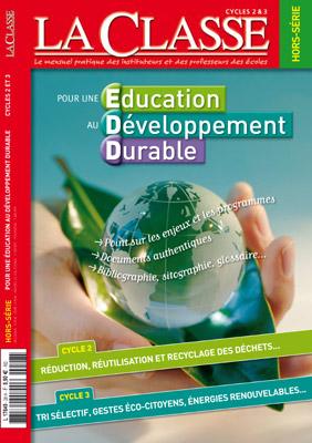 EDUCATION AU DEVELOPPEMENT DURABLE (CYCLE 2 & 3)