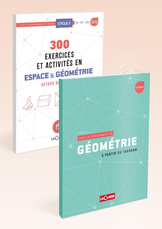 300 EXERCICES ET ACTIVITES EN ESPACE & GEOMETRIE A PARTIR DU TANGRAM