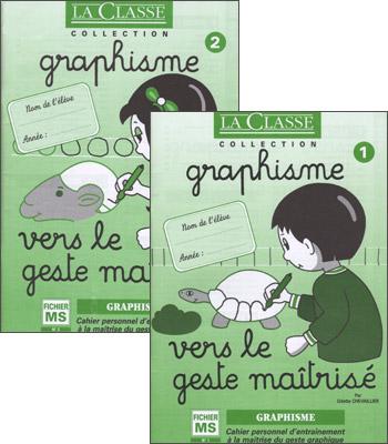 GRAPHISME EN MATERNELLE - MS- VERS LE GESTE MAITRISE
