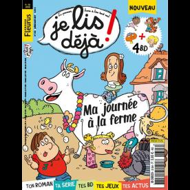 """ABONNEMENT JE LIS DEJA -  6 A 10 - 1 AN  11 N?  PAPIER - 4 """"Les Romans de Je lis d?j?"""""""