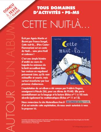 CETTE NUIT LA-LE DOSSIER PEDAGOGIQUE SEUL