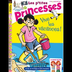 """ABONNEMENT LES P'TITES PRINCESSE - 1 AN  11 N°  PAPIER + 3 """"L'Atelier des p'tites princesses"""" + 2 HS"""