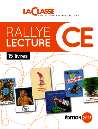 RALLYE LECTURE CE 2013 (LIVRES + HORS SERIE)